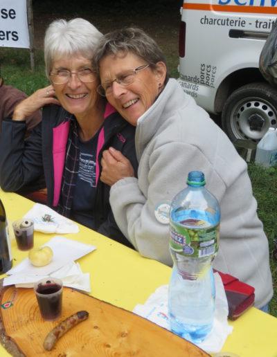Christiane et Francine